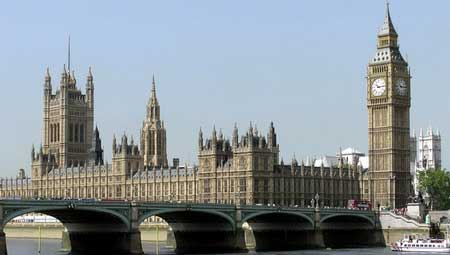 Лондон, Палаты Парламента